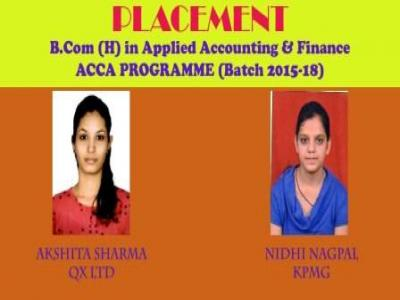 Placement of our Alumini (Batch 2015-18)